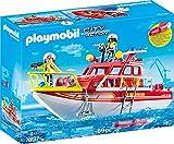 PLAYMOBIL City Action 70147 Feuerlöschboot, Ab 4 Jahren