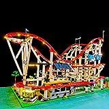YxFlower LED Licht Set Für Lego Bausteine Modellbau Spielzeug,Led Licht Beleuchtung Kit für Lego Creator Expert Achterbahn 10261 (Modell Nicht Enthalten)