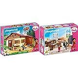 Playmobil Heidi 70253 Heidi und Großvater auf der Almhütte, Ab 4 Jahren & Heidi 70256 Schulunterricht im Dörfli, Ab 4 Jahren
