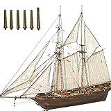 Kidnefn Holz Segelboot Schiff Kit Startseite DIY Modell Dekoration Boot Geschenke Spielzeug Für Kinder