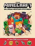 Minecraft, Das große Abenteuer-Stickerbuch: Ein offizielles Minecraft-Stickerbuch