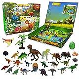 KITEOAGE Kinder Adventskalender 2021 Dinosaurier Weihnachten Countdown Kalender Junge Mädchen 24 Tage Überraschung
