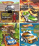 Nelson Mini-Bücher: Hot Wheels 1-4: 24 Mini-Bücher im Display