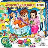CRAZE Adventskalender 2020 MAGIC DOUGH magische Knete + Zubehör kreativer Knetspaß für Kinder und Jugendliche 24744