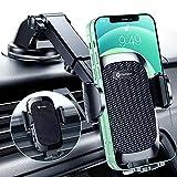 Humixx Handyhalterung Auto Saugnapf [2021 Stabilere Halterung] Universale 3 in 1 Armaturenbrett Windschutzscheibe KFZ Halterung 100% Silikonschutz Pkw Handyhalter für iPhone 13 Pro Max Mini Samsung