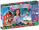 PLAYMOBIL Großer Adventskalender 70383 Weihnachten im Stadthaus, Inklusive Haus, Für Kinder ab 4 Jahren