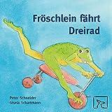 Fröschlein fährt Dreirad