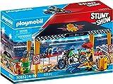 PLAYMOBIL Stuntshow 70552 Werkstattzelt, Für Kinder von 4 - 10 Jahren