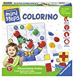 Ravensburger 04503 7 ministeps Colorino, Lernspiel für Kleinkinder ab 18 Monaten - So wird Farben lernen zum Kinderspiel - mit über 30 abwechslungsreichen Motiven
