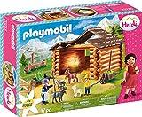 PLAYMOBIL Heidi 70255 Peters Ziegenstall, Mit Lichteffekt, Ab 4 Jahren