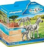 PLAYMOBIL 70356 - 2 Zebras mit Baby, ab 4 Jahren