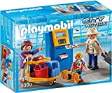PLAYMOBIL City Action 5399 Familie am Check-in Automat, Ab 4 Jahren