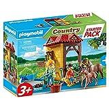PLAYMOBIL Country 70501 Starter Pack Reiterhof, Für Kinder ab 3 Jahren