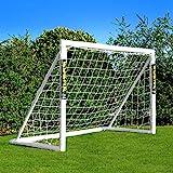 Net World Sports Forza Fußballtore - das Beste Tor bei jedem Wetter -7 Größen (1,8m x 1,2m mit Klicksystem)