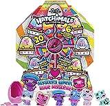 Hatchimals 6059964, Cat Crazy Mystery Wheel with Surprises to Open, for Kids Aged 5 and Up CollEGGtibles Katzenrad mit 20 Überraschungen zum Öffnen, für Kinder ab 5 Jahren, grau
