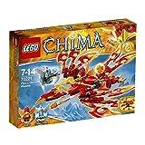 Lego® Legends of Chima-Spielfiguren – Spiele und Spielzeug – Lego Legends of Chima – Playthemas – 70221 – Bauspiel – Das ultimative Phoenix von Feuer