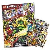 Sammelkarten Starter kompatibel zu LEGO Ninjago 6 - Die Insel - Album + 40 Karten gemischt (ohne Doppelte)