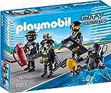 PLAYMOBIL City Action 9365 - SEK-Team mit vier Playmobil Figuren und Zubehör, ab 5 Jahren