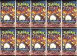 Arkero-G Pokemon 10 Booster Glänzendes Schicksal Sammelkarten | DEUTSCH | Schwert & Schild Karten Serie 100 Soft Card Sleeves