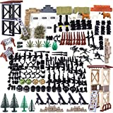 12che Millitärspielzeug Helm, Custom Figures Militärblock und Waffe Set für Soldaten Minifiguren SWAT Polizei Team Kompatibel mit Lego Figuren