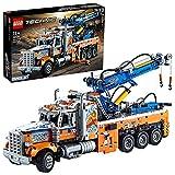 LEGO 42128 Technic Schwerlast-Abschleppwagen, Modellbauset, Technik für Kinder, Kran-Spielzeug