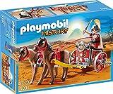 PLAYMOBIL History 5391 Römer-Streitwagen mit Figur, Pferde und Wagen, ab 4 Jahren