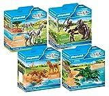 PLAYMOBIL Tiere Afrikas Zoo Set 4-teilig: 70356 70358 70359 70360