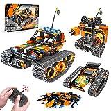 VATOS STEM Fernbedienung Spielzeug - 392 PCS 3 in 1 Techinic Car Stunt Robot   Kreative Steine für Jungen und Mädchen Alter 8 9 10 11 12 Jahre alte Bausteine Bauspielzeug Kinder