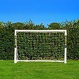 FORZA Fußballtor mit einem Klicksystem – das Fußball-Tor kann das ganze Jahr über bei jedem Wetter draußen Lassen Stehen | Fussballtore für Garten | Fussballtor Kinder (1,8m x 1,2m)