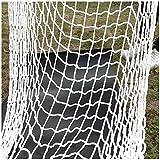 JGXRJLK Kinder-Kletternetz (Trag 500kg),Nylonnetz,Haustiersicherheitsnetz,Ladungsnetz,Bausicherheitsnetz,Kinderspielgeräte,Quadratisches Gitter,Korrosionsschutz,Verschleißschutz,2 * 2m(6.6 * 6.6ft)