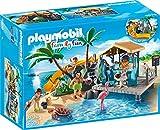 PLAYMOBIL Family Fun 6979 Karibikinsel mit Strandbar, Ab 6 Jahren