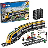 LEGO 60197 City Personenzug mit batteriebetriebenem Motor, ferngesteuertes Set mit Bluetooth-Verbindung, Schienen und Zubehör