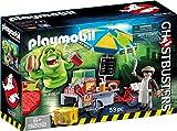 Playmobil Ghostbusters 9222 Slimer mit Hot Dog Stand, Ab 6 Jahren [Exklusiv bei Amazon]