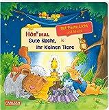 Hör mal (Soundbuch): Mach mit - Pust aus: Gute Nacht, ihr kleinen Tiere: Zum Hören, Auspusten und Mitmachen ab 2 Jahren. Mit Puste-Licht und Musik für eine Gute Nacht
