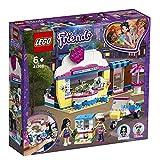Lego 41366 Friends Olivias Cupcake-Café Spielset, Olivia und Emma als Minipuppen, Spielzeug-Scooter und Accessories, Spaß-Set für Kinder