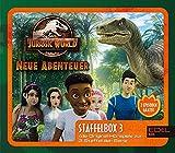 Jurassic World - Neue Abenteuer: Alle Original-Hörspiele zur 3. Staffel (Folge 17 - 26) - [Hörspiel-Staffelbox mit 3 CDs]