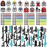 Gedar Maske, Helm für Lego Star Wars Waffen, Blaster Kit für Lego Star Wars Minifiguren, Waffen Bausatz für Lego Clone Wars Minifiguren, 83St