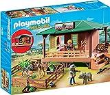 Playmobil 6936- Rangerstation mit Tieraufzucht, Normalverpackung