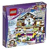 Lego Friends 41322 - 'Eislaufplatz im Wintersportort Konstruktionsspiel, bunt