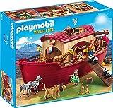 PLAYMOBIL Wild Life 9373 Arche Noah mit Figuren und vielen Tieren, schwimmfähig, ab 4 Jahren