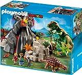 Playmobil 5230 - T-Rex und Saichania beim Vulkan