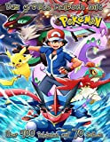 Das größte Malbuch mit Pokémon, Über 400 Pokémon auf 70 Seiten