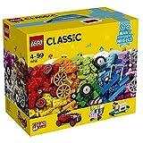 LEGO Classic 10715 - Bricks on a Roll Kreativ-Fahrzeuge-Bauset (442 Teile)