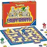 Ravensburger 21210 - Junior Labyrinth - Familienklassiker für die Kleinen, Spiel für Kinder ab 5 Jahren - Gesellschaftspiel geeignet für 2-4 Spieler, Junior-Ausgabe