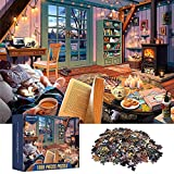 ANDSTON Puzzle 1000 Teile, Puzzles für Erwachsene 1000 Stück | WARM Home | Pädagogische 1000 Teile Puzzles für Teens Kinderhirn Herausforderung Tägliches Spiel Spielzeug Präsentieren Wanddekoration