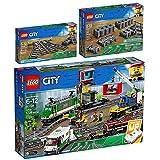 Lego City 3er Set 60198 60238 60205 Güterzug + Weichen + Schienen
