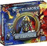 PLAYMOBIL Box 70736 Novelmore 'Die Schatzsuche' mit 5 Novelmore-Spielsets, Kochbuch und Notizheft, Ab 6 Jahren [Exklusiv bei Amazon]