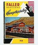 Faller Modellbau Hauptkatalog 1958