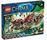 LEGO 70006 - Legends of Chima - Craggers Croc-Boot Zentrale