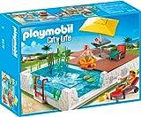 PLAYMOBIL City Life 5575 Einbau-Swimmingspool inkl. Zubehör, ab 4 Jahren